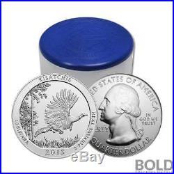 2015 Silver 5 oz Coin ATB Kisatchie NF Louisiana Roll (10 Coins)