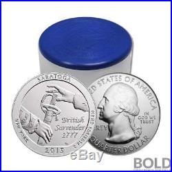 2015 Silver 5 oz Coin ATB Saratoga NP New York Roll (10 Coins)