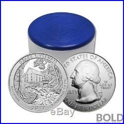 2017 Silver 5 oz Coin ATB Ozark National Scenic Riverways Missouri Roll 10 C