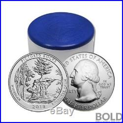 2018 Silver 5 oz Coin ATB Pictured Rocks NP Michigan Roll (10 Coins)