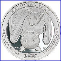 2020 S Parks Quarter Roll ATB 99.9% Silver Gem Deep Cameo Proof 40 Coins