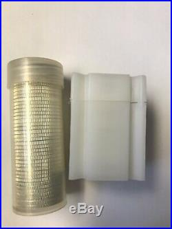 $20 Face Value 90% Silver Coins $10 Roll of Quarters & $10 Roll of Half Dollars