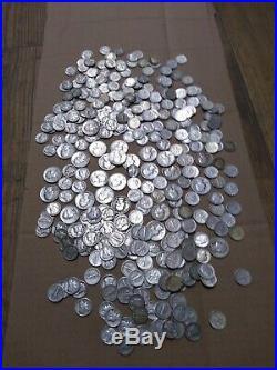 320 silver Dimes 26 quarters 90% 6 rolls plus coins