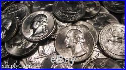 (40) 1948-S Washington Silver Quarter Roll BU Uncirculated Coin Lot SKU-1912