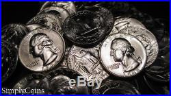 (40) 1948 Washington Silver Quarter Roll BU Uncirculated Coin Lot SKU-1604