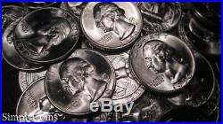 (40) 1950-D Washington Silver Quarter Roll BU Uncirculated US Coin Lot