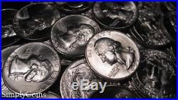(40) 1951-D Washington Silver Quarter Roll BU Uncirculated Coin Lot SKU-1914