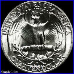 (40) 1953-D Washington Quarter Roll BU Uncirculated 90% Silver US Coin Lot MQ
