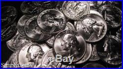 (40) 1953-D Washington Silver Quarter Roll BU Uncirculated Coin Lot SKU-1189