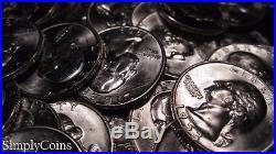 (40) 1953 Washington Silver Quarter Roll BU Uncirculated Coin Lot SKU-115