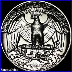 (40) 1961 Washington Quarter Roll GEM PROOF Uncirculated 90% Silver US Coins