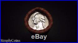 (40) 1964-D Washington Silver Quarter SHOTGUN Roll BU Uncirculated Coin Lot