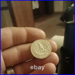 (40) 1964-PWashington Silver Quarter Roll BU Uncirculated US Coin Lot MQ