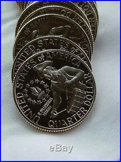 40% Silver Proof Bicentennial Quarter Full Roll