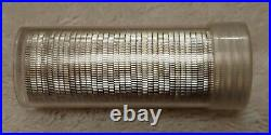 90% SILVER Proof ROLL of 40 GEM CAMEO PROOF Quarters $10 Silver Quarter Roll