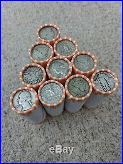 90% Silver Quarter Lot $5 Old US Half Coin Roll 20 Mixed Date US Silver Coin