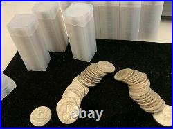 90% Silver Quarters Roll of 40 $10 Face unsearched from old estate