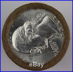 90% Silver Washington Quarter Half Roll $5 1943 BU Unknown Mint 25c FREE SHIP