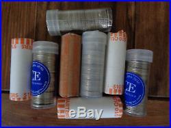 90% Silver Washington Quarters-(8 Rolls) Lot of 320 coins