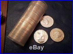90% silver quarter roll