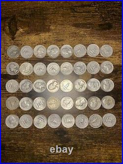 90% silver quarters roll of 40 10 face value