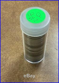 BJSTAMPS 1925 -30 roll 40 Standing Liberty Quarters silver Full Dates $10 face