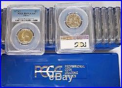 Box of 20 -1976 S 25C Bicentennial Washington Silver Proof Quarter PCGS PR69DCAM