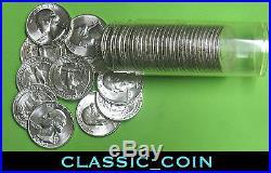 CHOICE 1954 SILVER WASHINGTON QUARTER ROLL 25c CHOICE UNCIRCULATED (40 COINS)