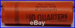 Choice/gem Bu Roll 1956 D Washington Quarters Opened Bankwrap Obviously Original