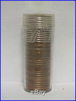 FULL DATE Roll Of 40 $10 Face Value 90% Silver Washington Quarters FREE SHIPPING