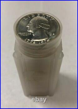 FULL ROLL of 40 BU 1976 S Silver Washington Quarters Brilliant Uncirculated