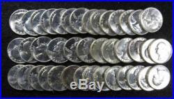 Full Roll 1961 BU Silver Washington Quarters Beautiful 40 specimens