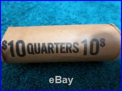 Full Roll (40) Old Silver Washington Quarters, US Coins 90% Silver, Investment