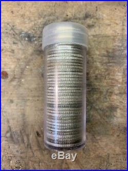 Full Roll 40 Silver Washington Quarters Some AU $10 25 Cents. 90 Percent Silver
