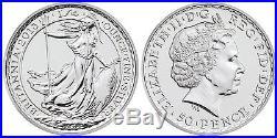 NEW 15 coin sealed roll 1/4 Quarter oz Silver British Britannia SS Gairsoppa