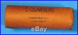 OBW Shotgun Roll of 1960 P Washington Silver Quarters BU Uncirculated Coins