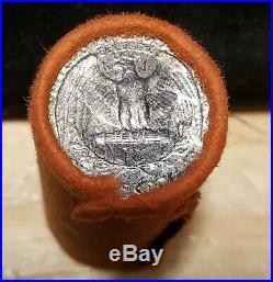 ORIGINAL OBW BU Roll of Silver 1953-P Washington Quarters (scarcer than D or S)