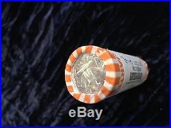 Paper wrapped Blast white BU $500 face rolls Silver Quarter & dime random mix