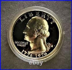 ROLL SILVER 1976 S PROOF Bicentennial Washington quarter Uncirculated 40 Coins