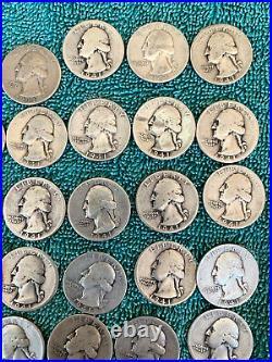 Roll. 1941 Washington Quarter. + Bonus