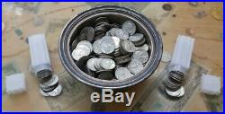 Roll (40) Of Washington Quarters Silver 90%
