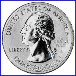 Roll-40 U. S. 2018-S Silver Pictured Rocks Reverse Proof ATB Quarter GEM SKU55238