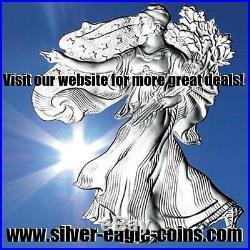 Roll (40) Washington 90% Silver Quarters $10 Fv Full Dates No Culls/junk