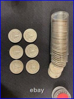 Roll ASST 90% Silver Washington Quarter