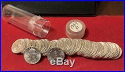Roll BU 1959-D Washington Silver Quarters
