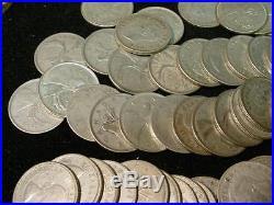 Roll Canadian Silver Quarter