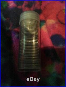 Roll Of 40 90% Silver Washington Quarters $10 Face Value Ungraded mixed Date
