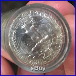Roll Of 40 BU 1954 D Silver Washington Quarters