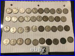 Roll Of 40 Canadian 80%-92.5% Silver Quarters Pre 1967 $10 Face Value