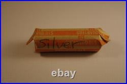 Roll of 40 90% Silver Washington Quarters, Circulated